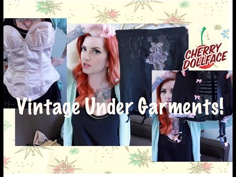 All About Vintage Undergarments And Foundation Garments By CHERRY DOLLFACE