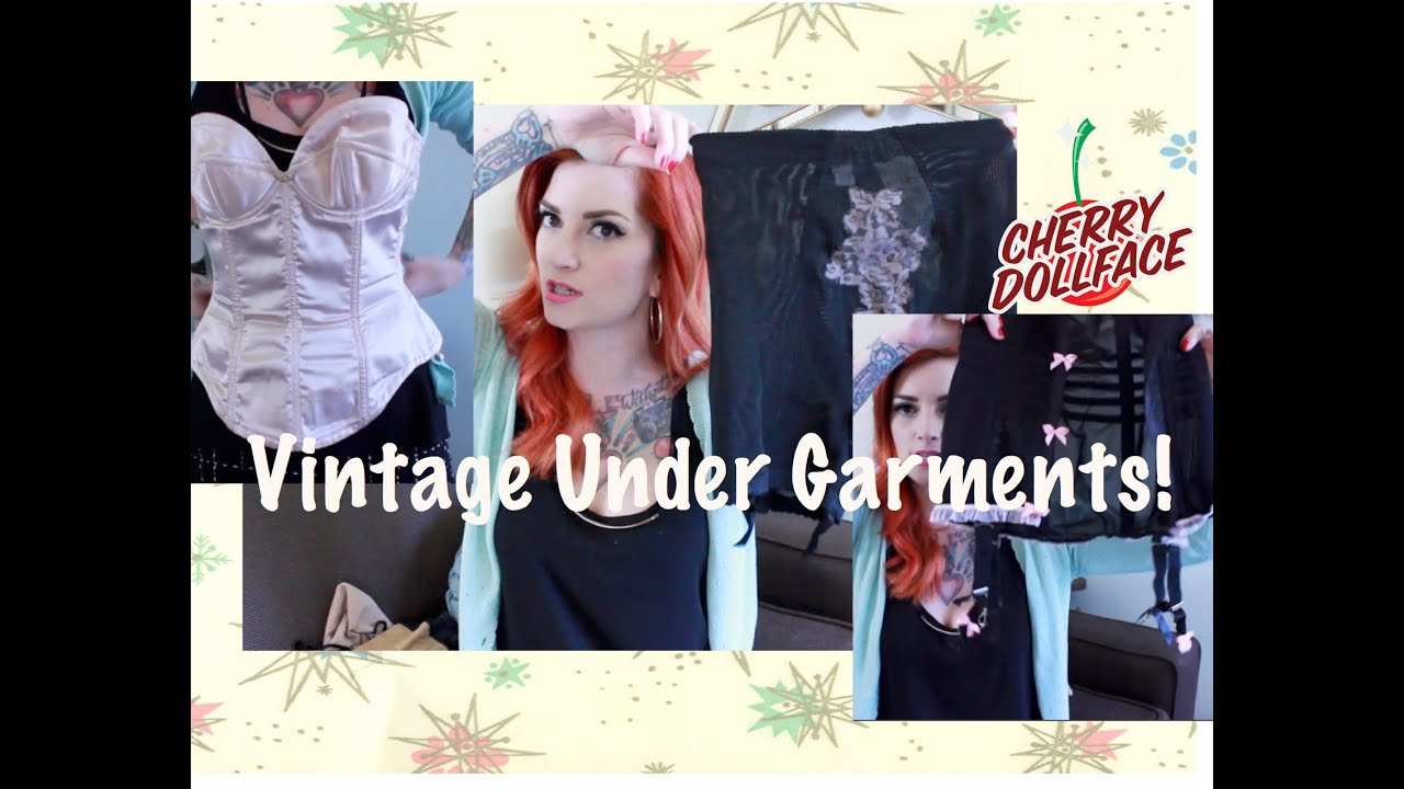 37dcc0111 All About Vintage Undergarments and Foundation Garments by CHERRY DOLLFACE
