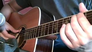 Rurouni kenshin warrior's blue guitar cover (acoustic)