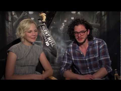Adelaide Clemens & Kit Harington 'Silent Hill: Revelation 3D' Interview