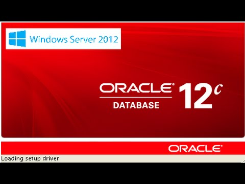 How to install Oracle 12c Database on Windows Server 2012 64 bit.