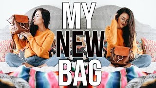 NEW BAG UNBOXING!!! My Chloe Faye Backpack Reveal || Sarah Belle