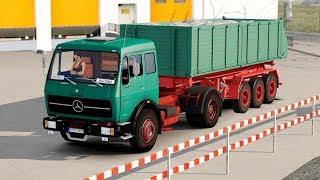 ETS2 1.28 ProMods 2.20 Mercedes NG 1632 Suwalki - Lodz