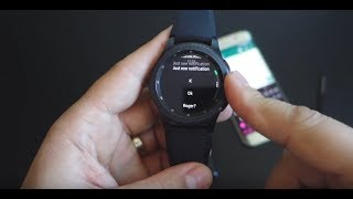 Gear S3: full whatsapp (+10 social apps) notifications + chat history