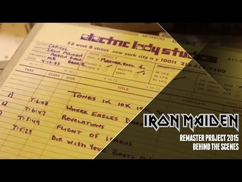 Iron Maiden Remaster Project 2015 - Behind The Scenes