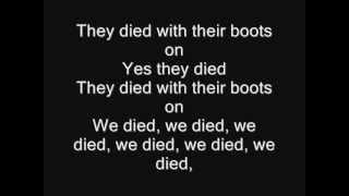 Iron Maiden - Die With Your Boots On Lyrics