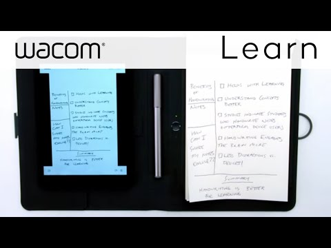 How to add Handwritten Notes to Evernote using Bamboo Spark smartpad
