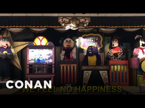 The Chuck E. Cheese Band Speaks Out  – CONAN on TBS