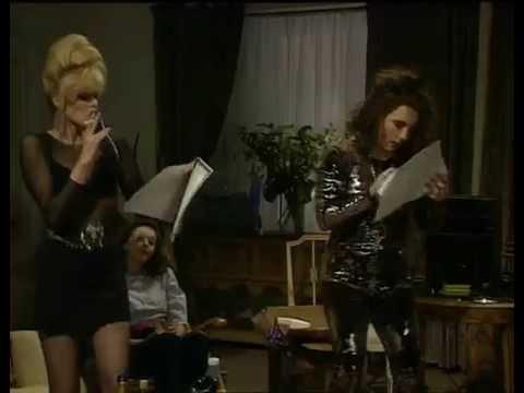 AbFab: Edina and Patsy take to the Karaoke Machine