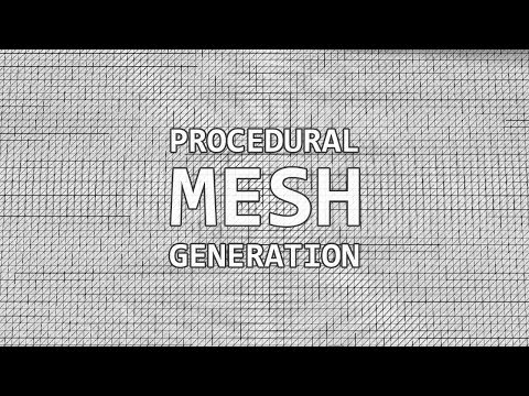 Procedural Mesh Generation in Unity 3D