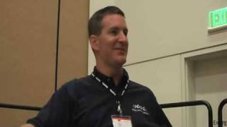 ORACLE   DBA  RAC  specialist  Dan Norris Interview at Oracle Open World 2008