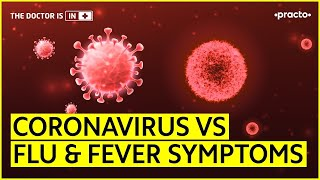 Coronavirus Symptoms vs Flu & Fever Symptoms || Types & Causes of Fever || Practo