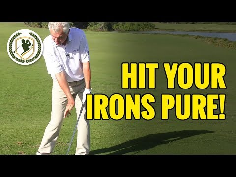 Golf Swing Lesson – How To Hit Your Irons Pure!