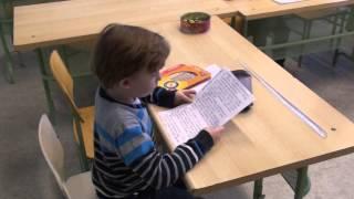 Как читают дети - Данил Щербатых, 6 лет