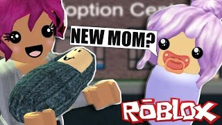 Adopting An Annoying Kid On Roblox!