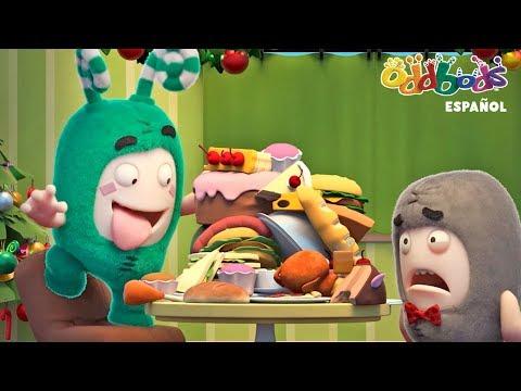 Oddbods NUEVO - SORPRESAS NAVIDE脩AS | Show de Oddbods | Caricaturas Graciosas para Ninos