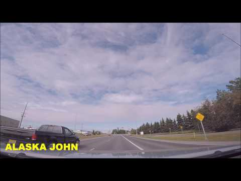 ALASKA DRIVING - Anchorage Afternoon Errands  - June 24th 2017