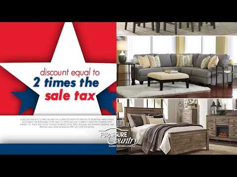 Furniture Country Veterans Day Sale