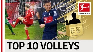 EA SPORTS FIFA 18 - Top 10 Best Volley Finishers: James, Reus, Lewandowski & More