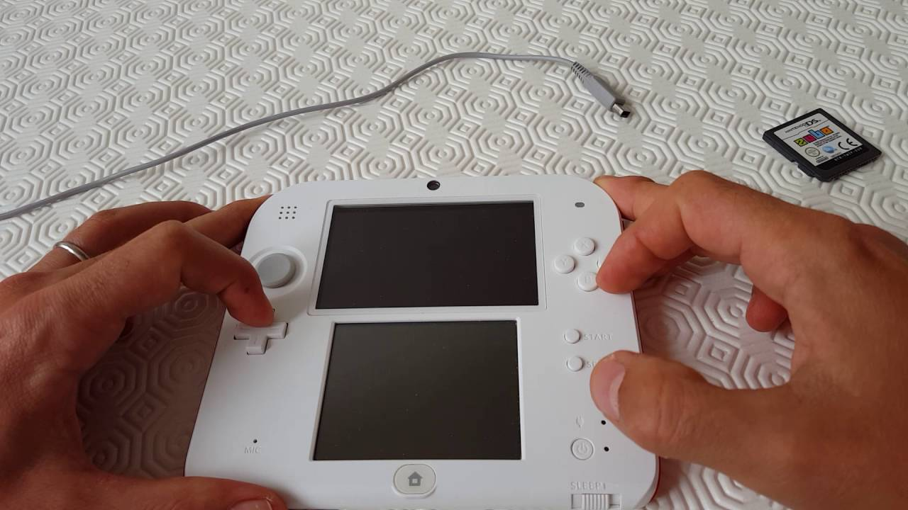 Nintendo 2ds Stuck At Home Menublack Screen Of Death Help Youtube