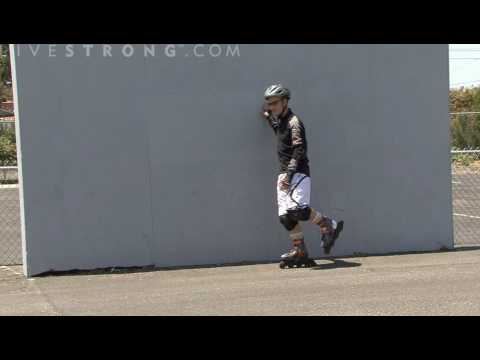 How to Glide on One Rollerblade