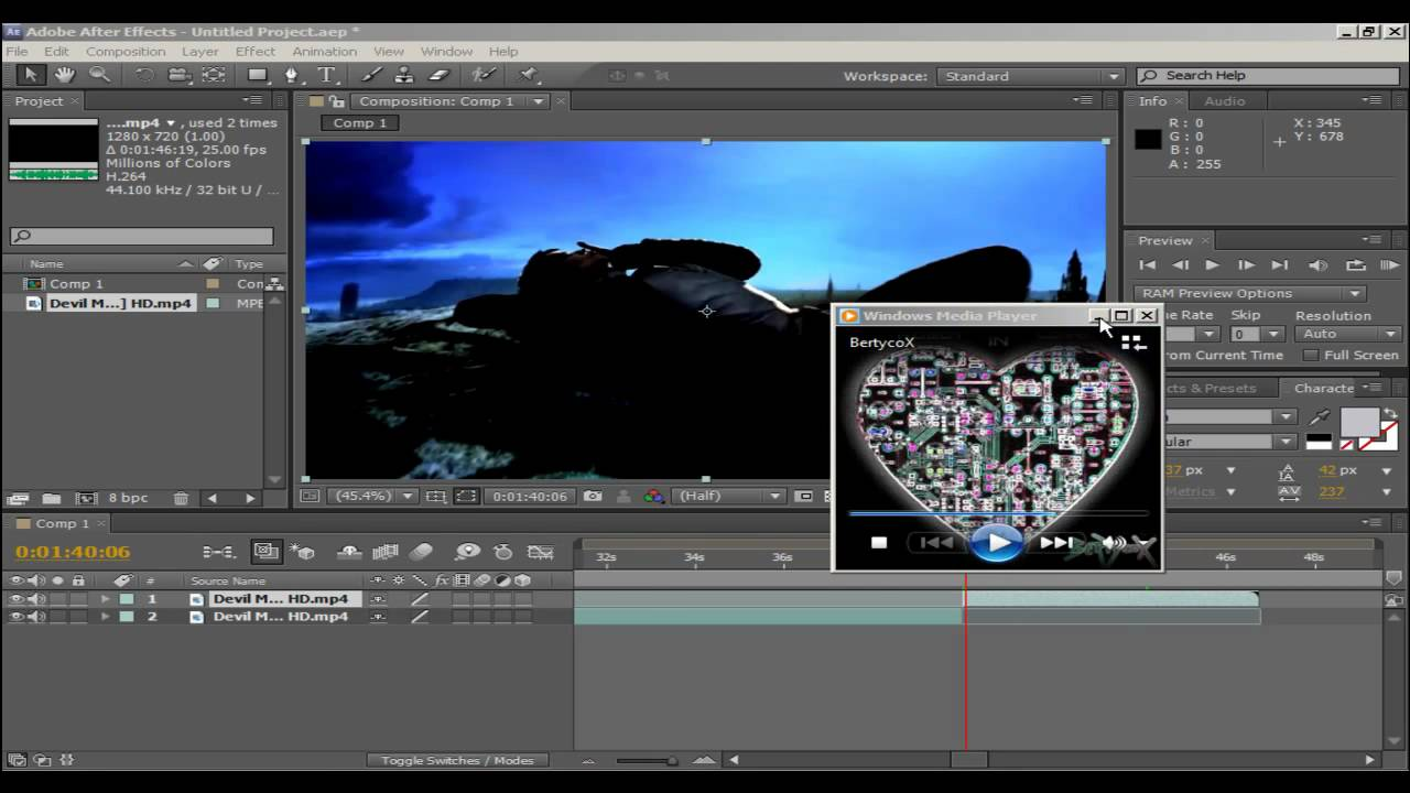 hear sound while preview in adobe after effects cs5 extrovert eyrie