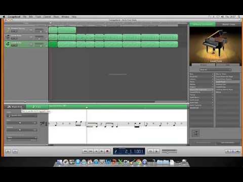 Rock Your Body on GarageBand MIDI - FLASHING IMAGES!!