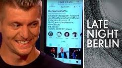 Toni Kroos prankt Cristiano Ronaldo auf Instagram | Late Night Berlin | ProSieben