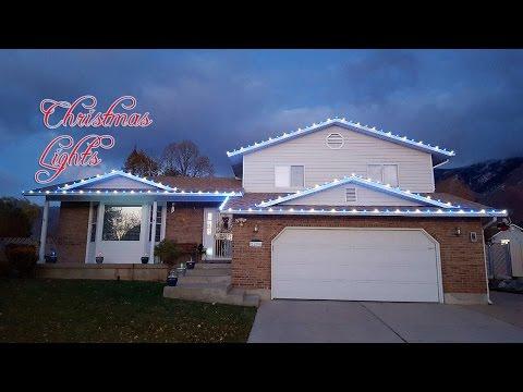 Hanging Christmas Lights Outside On Roof