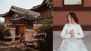 Reunited With Family | Korea Vlog