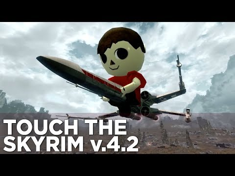 Griffin and Nick Fight in the STAR WAR - Touch the Skyrim Ep. 13