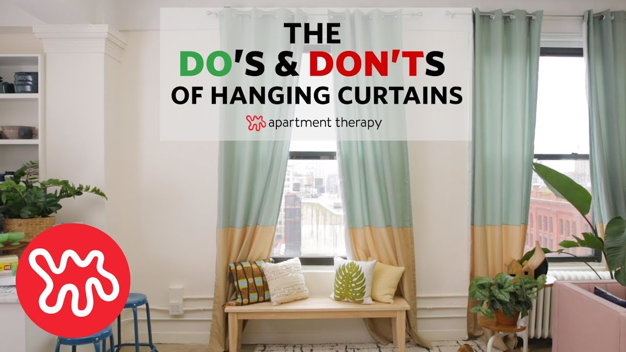 The Dos and Don\'ts of Hanging Curtains | Apartment Therapy