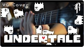 Undertale: Spear of Justice - Metal Cover || RichaadEB