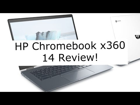 HP X360 Chromebook 14 Review!