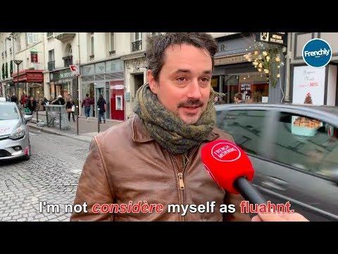 Parisians Try To Speak English
