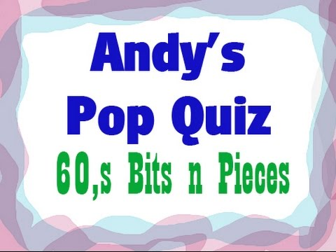 Pop Quiz No36 - 60s Massive Hits