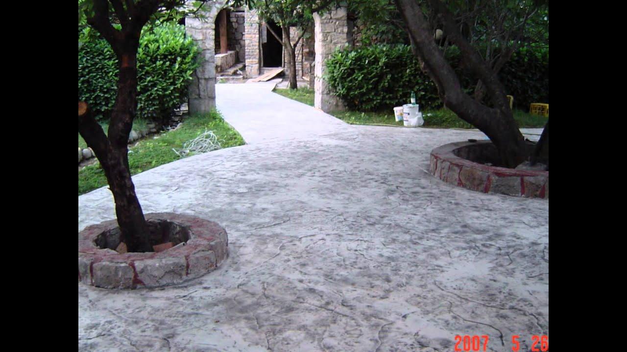 Art Beton art beton Štampani beton - youtube