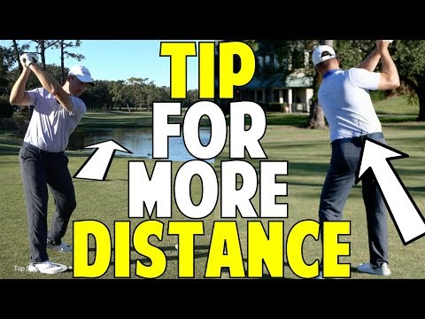 Golf Tip For More Distance