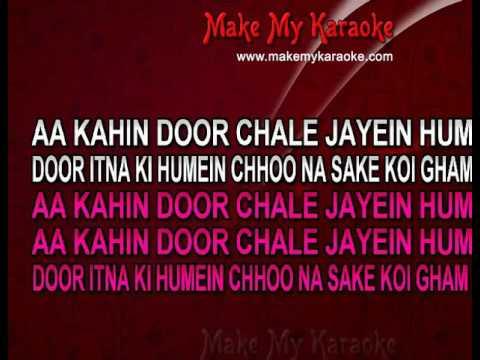 Aa Kahin Door Chale (With Female Vocals) - Laawaris (MP3 Format) Karaoke