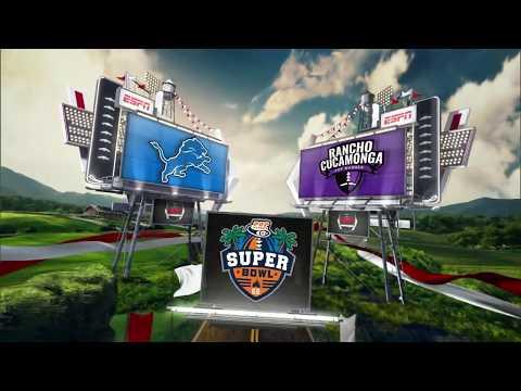 Brick City Lions vs. Rancho Cucamonga Cougars - Division 2 Pee Wee Championship Highlights