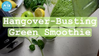 St Patricks Day Hangover-Busting Green Smoothie
