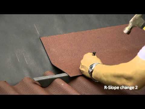 Ondura R Slope Change 2 Installation Youtube