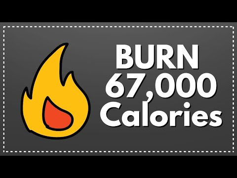 How to Burn 67,000 Plus Calories & Love It, 5 Easy Steps