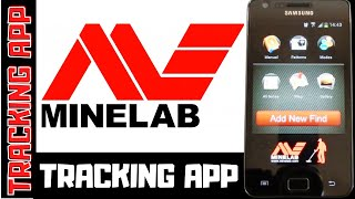 Minelab Treasure Tracking App, GPS Finds Recording (Metal Detecting)