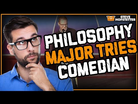 Comedian Takes on Philosophy Major