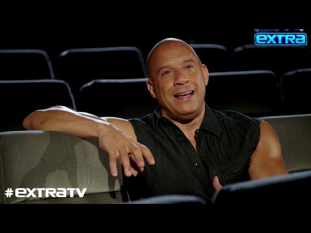 Vin Diesel Talks 'F9,' Plus: His Bond with Paul Walker's Daughter Meadow