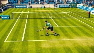 Tennis World Tour - Tournament Part 1 - PC Gameplay