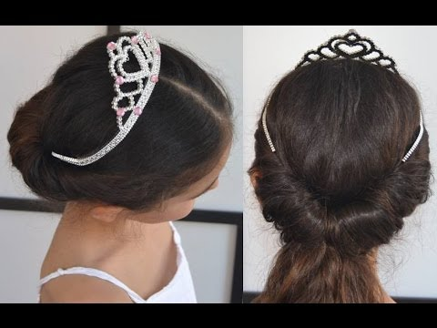 Peinados de comuni n para ni a ceremonias celebraciones - Peinados bonitos para ninas ...