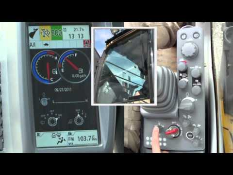 Excavator 470G  Operator Controls