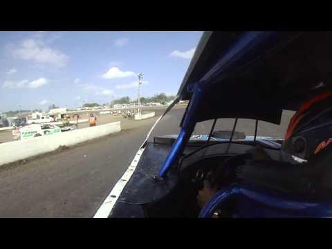 Nick Hoffman - Volusia Speedway Park (2/19/12) UMP Modified B-Main